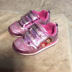 Disney princess light up toddler shoes